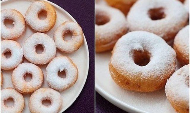 Творожные пончики — очень вкусный и простой десерт