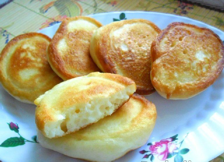 Оладушки на варенце рецепт с фото