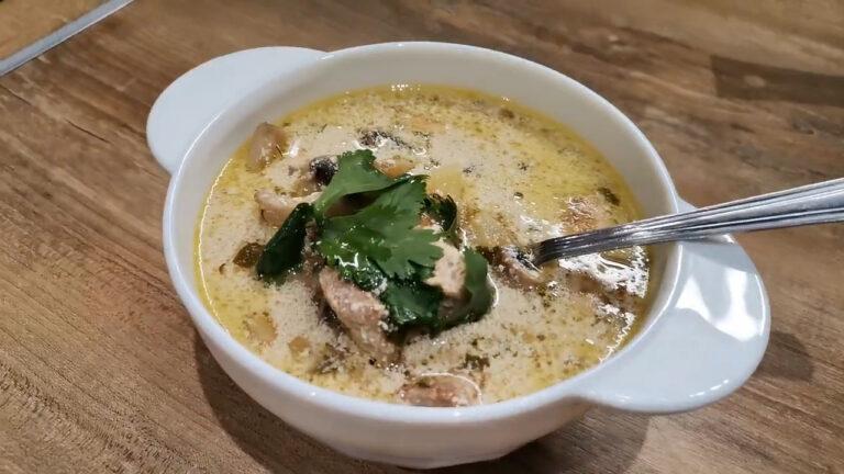 Рецепт сливочного супа с грибами