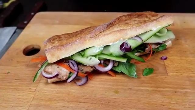 Три вкусных бутерброда: крок-месье, Бан Ми и английский сэндвич с огурцом