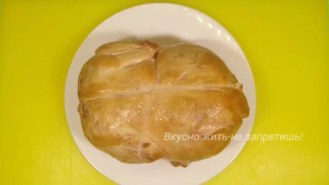 Рецепт курицы холодного копчения